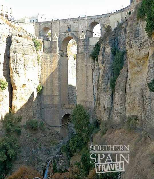 ronda gorge and bridge