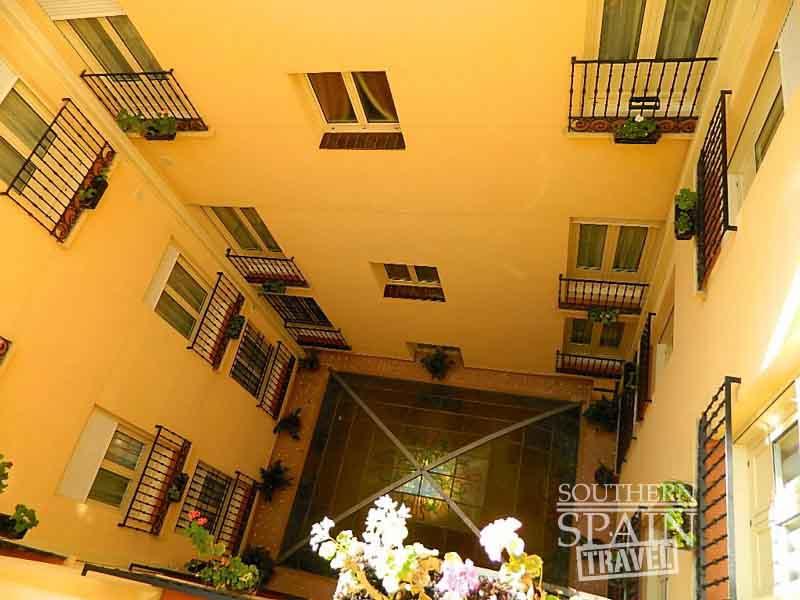 Spanish Hotel Courtyar