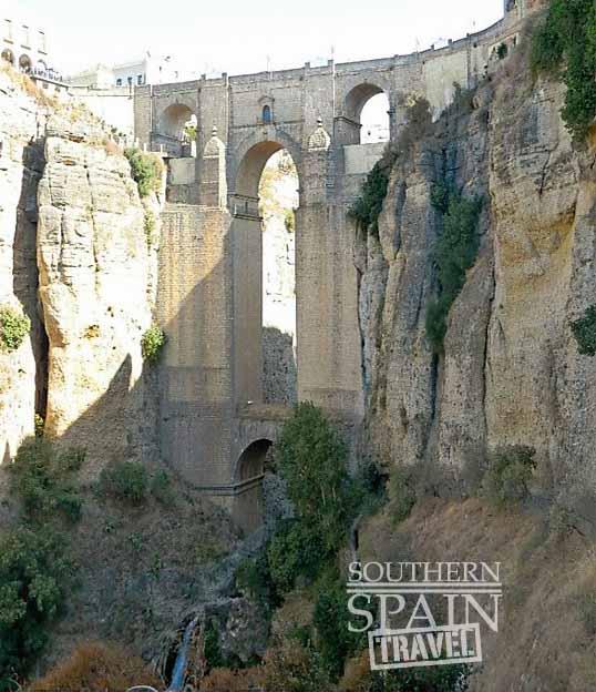 ronda gorge and bridge